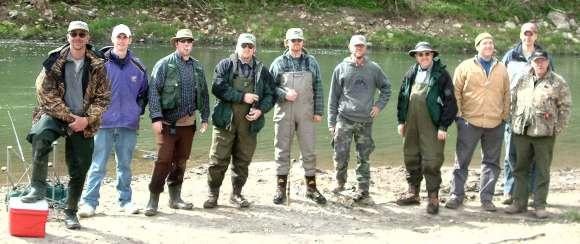 Fishermen Group Photo Roundup 2005