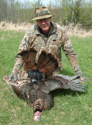 Clarence Geving, Wild Turkey Hunter