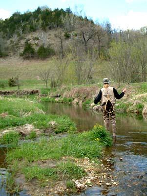 Andy Flyfishing Winnebago Creek