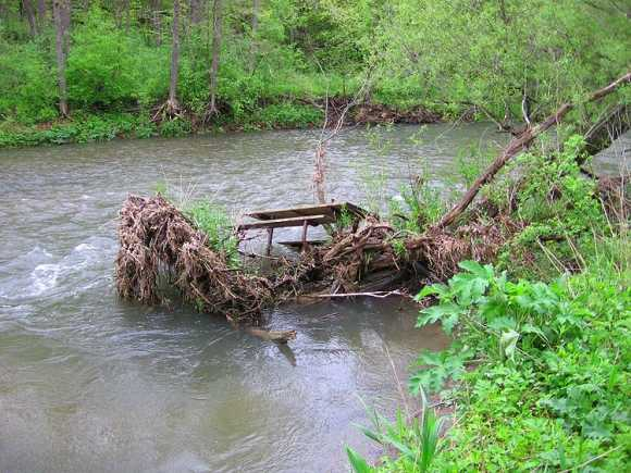 Drowned Picnic Table Flood