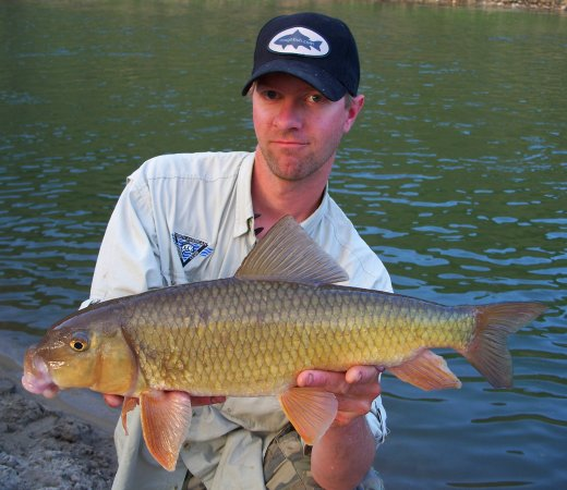 All-tackle world record Golden Redhorse Andy Geving