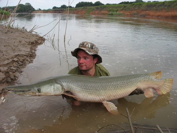 Mud sweat and prehistoric beasts part 3 for Brazos river fishing