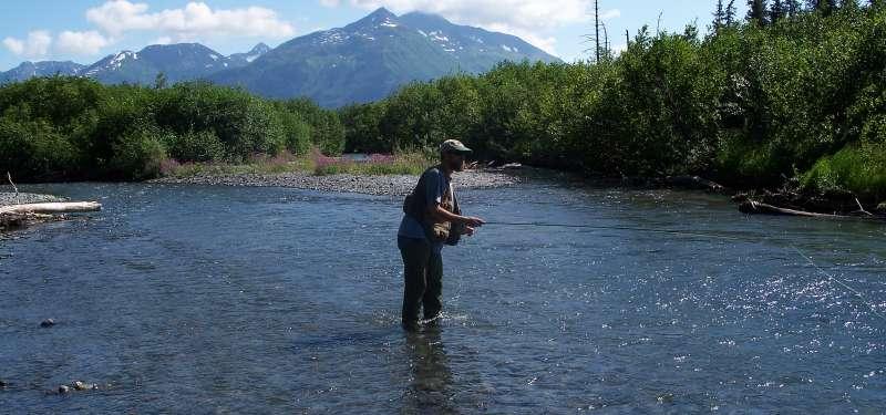 Fishing Ingram Creek
