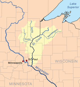 The St. Croix River of Minnesota and Wisconsin | roughfish.com