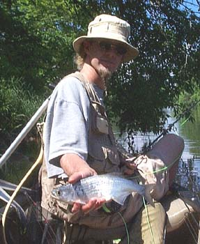 Flyfishing for Mooneyes on the Red Cedar River in Wisconsin