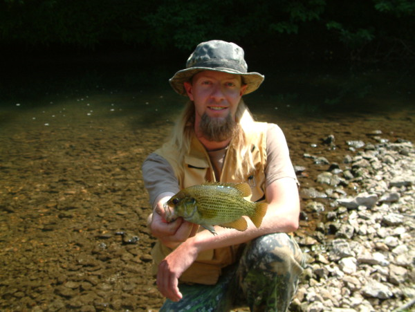 Nice Rock Bass from the South Fork of the Root River
